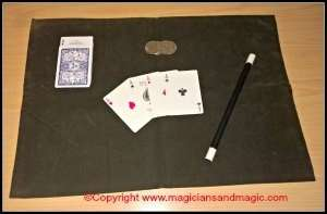 Close up magic mat