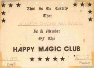 Happy Magic Club membership