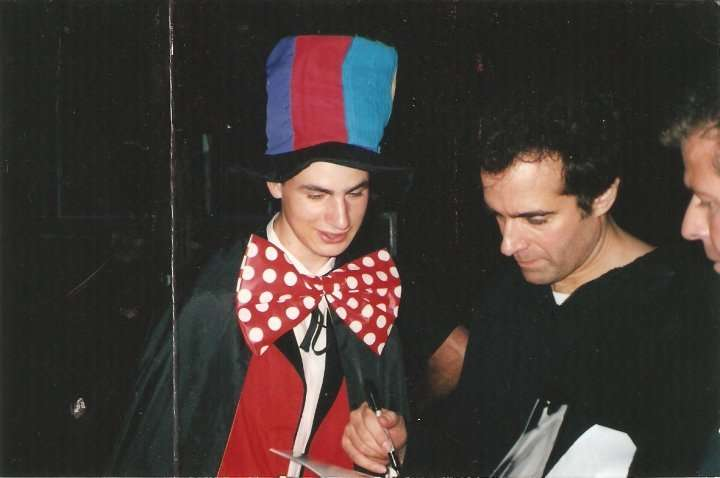 Tim Coles and David Copperfield