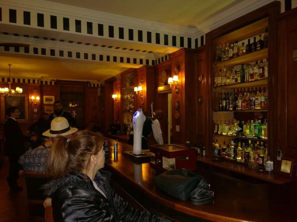 Upstairs bar at the Cape Town Magic Club