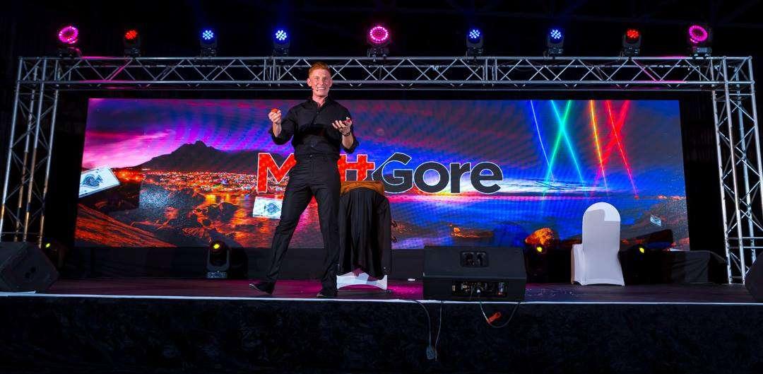 Matt Gore Magician Stage show